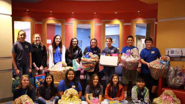 NJHS Donates Money, Easter Baskets to UMC's Children's Hospital, NICU