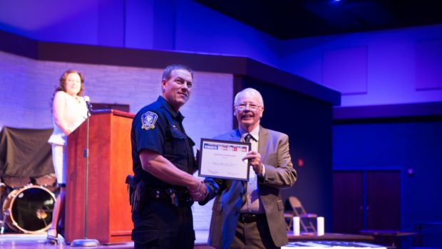 Frenship Police Officer Receives Certificate of Appreciation from Crime Victim Coalition