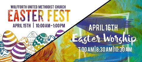 Wolfforth UMC Celebrates Easter