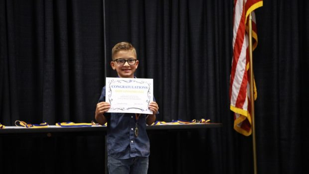 First Grade Student Wins National PTA Reflections Award