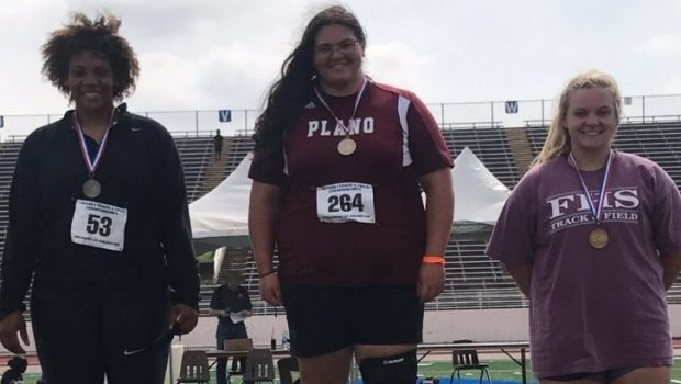 Megan Hartline Heading to State in Shot Put