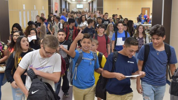 VIDEO: First Day of School at Frenship ISD