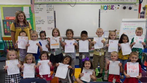 Kindergarten Class Gives Back in the Wake of Hurricane Harvey