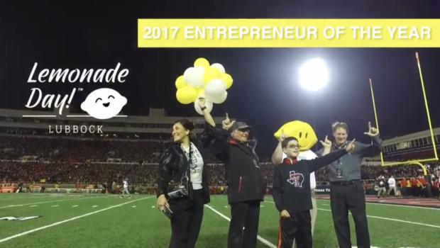 Bennett Elementary Fifth Grader Selected as Lubbock Lemonade Day Entrepreneur of the Year