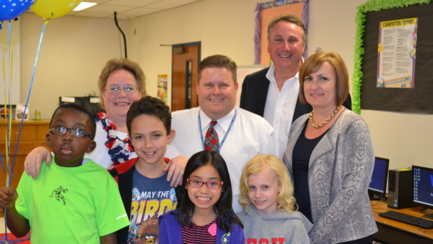 Westwind Teacher Wins 2015 Newton Excellence in Education Award