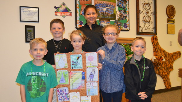 Frenship Students Win Wolfforth Water Expo Coloring Contest