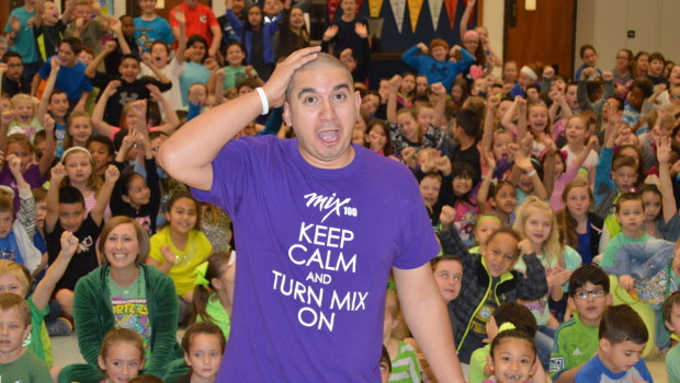 "Crestview Elementary ""Buzzed"" About Their Miracle Pennies Efforts"