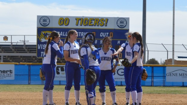FHS Softball Opens District With Shutout of Monterey