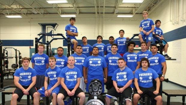 Frenship Powerlifters Qualify for Regional Meet