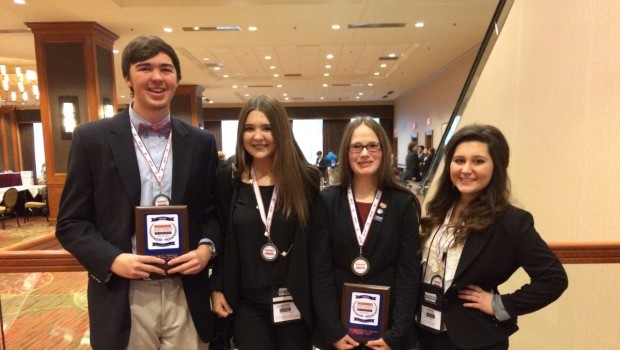 BPA State Conference Contestants California Bound