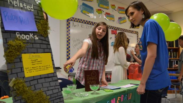 Heritage Students Host Literature Circle Book Showcase