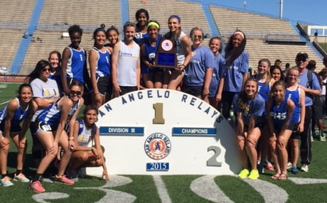 Tiger Track Teams Golden in San Angelo