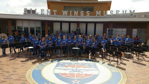 TVMS Band Performs for Veterans and Their Families on Armed Forces Day