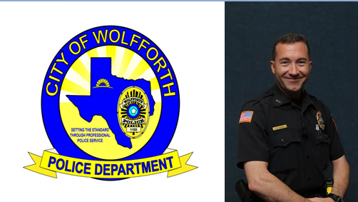 Wolfforth Police Department Honors Officers