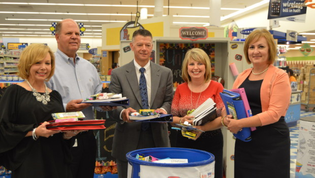 The United Family Hosts School Supply Drive