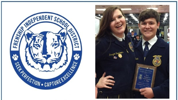 Frenship Students Win State Championship at FFA Agriscience Fair