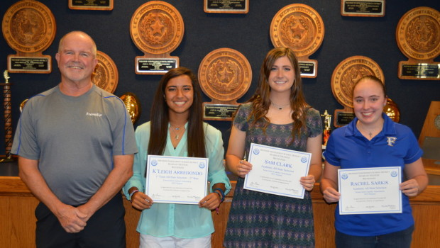 Frenship Athletes Receive All-State Recognition