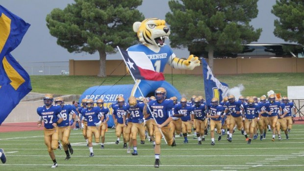 Tiger Football Rolls in Season Opener