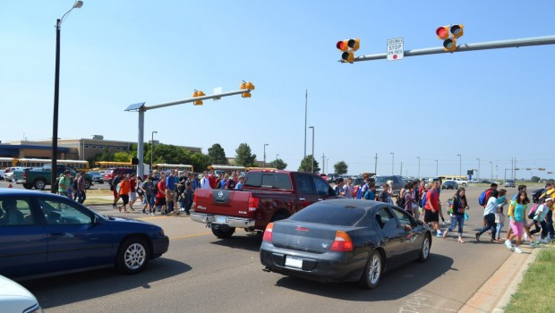 New HAWK Pedestrian Crosswalk System Increases Safety at FHS