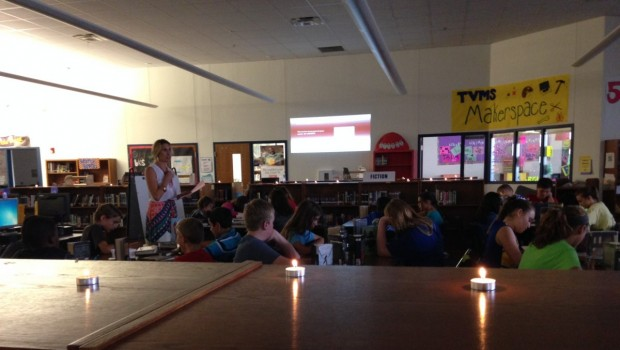 "Terra Vista Students Find a ""New Love"" for Reading"