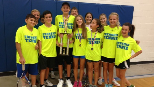 FMS Brings Home the Awards at the Lubbock County Middle School Tennis Tournament