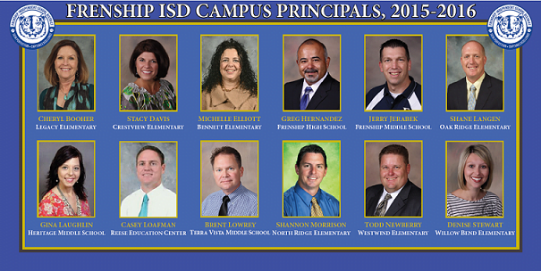 FISD Says Thank You To Campus Principals During National Principal Month