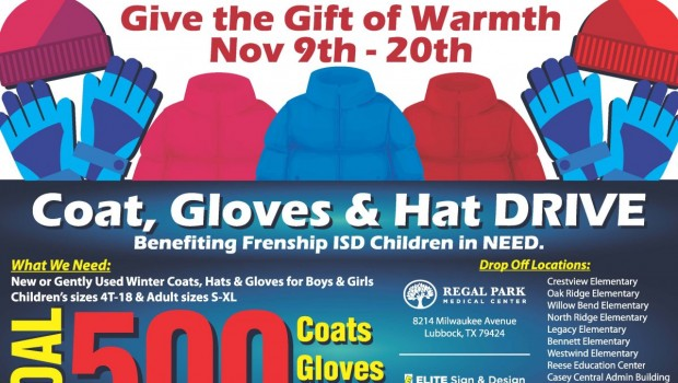 Help Give the Gift of Warmth to FISD Students this Winter Season