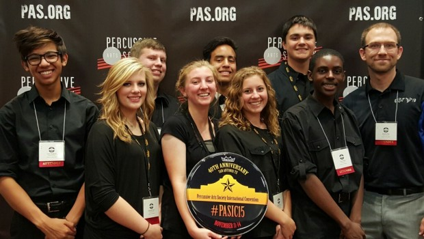 FHS Percussion Wins International Competition