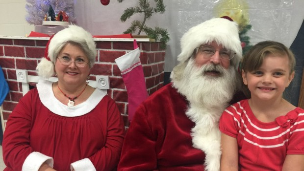 Westwind Shares Cookies and Cocoa with Santa