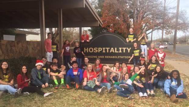 TVMS Student Council's Volunteer Day
