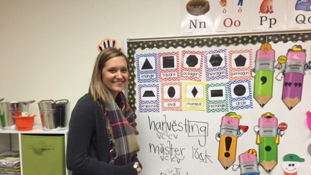 Crestview Elementary Welcomes Back One of Their Own