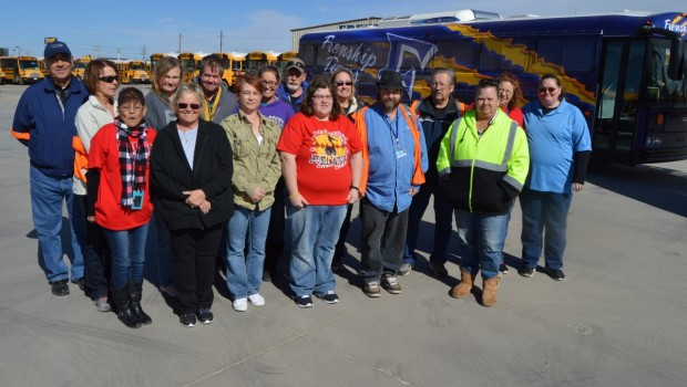 FISD Thanks Bus Drivers During Bus Driver Appreciation Week