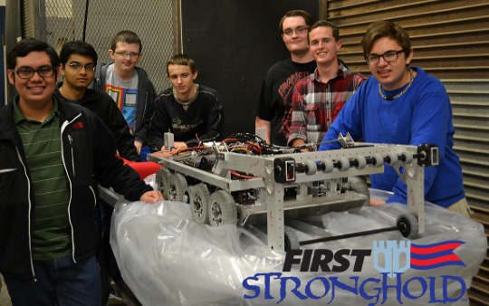"FHS Robotics Program ""Building"" With Excitement for FIRST Robotics Competition"