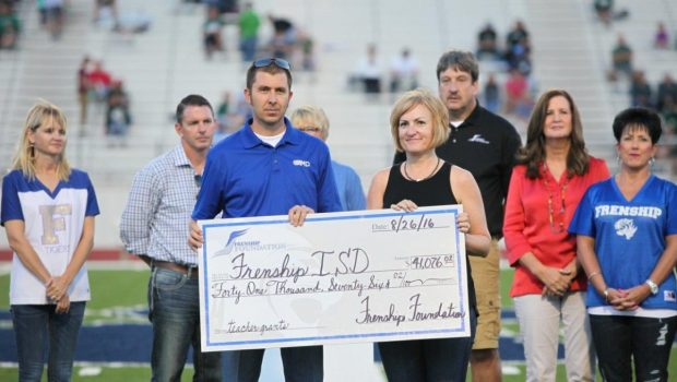 Frenship Foundation Presents FISD More Than $100,000 in Donations