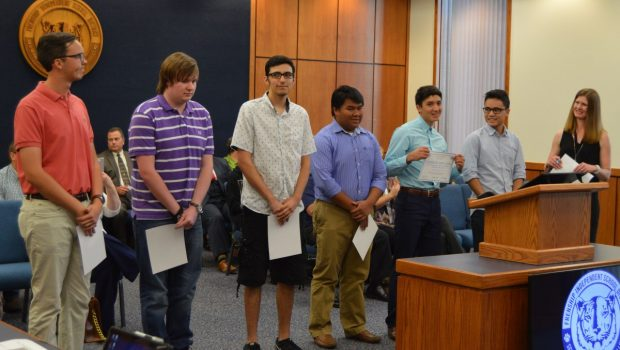 FISD Board Honors Frenship High School AP Scholars
