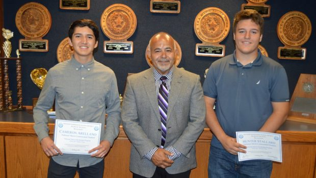 Two Frenship Students Named National Merit Commended Students