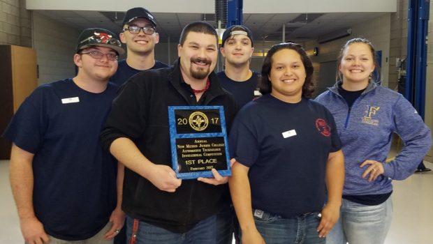FHS Automotive Team Wins Title at NMJC Competition