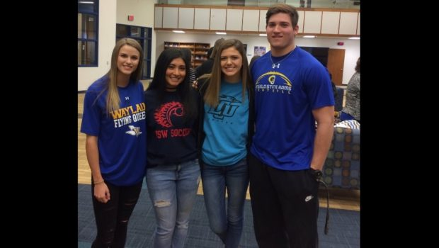 Four Frenship Athletes Sign National Letters of Intent