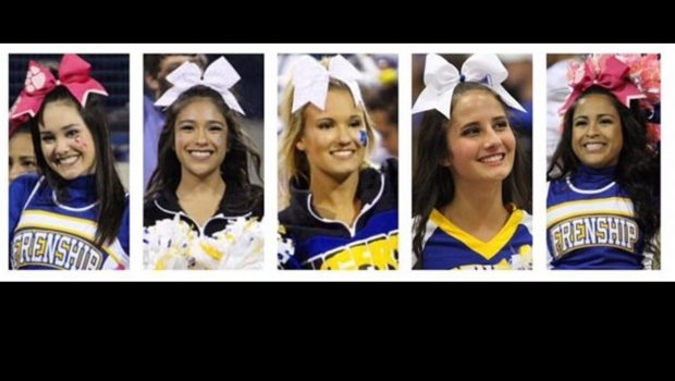 Five Frenship Cheerleaders Earn Academic All-State Recognition
