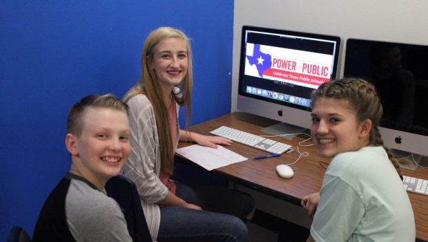 TVMS Students Qualify for State in CTPS Video Contest