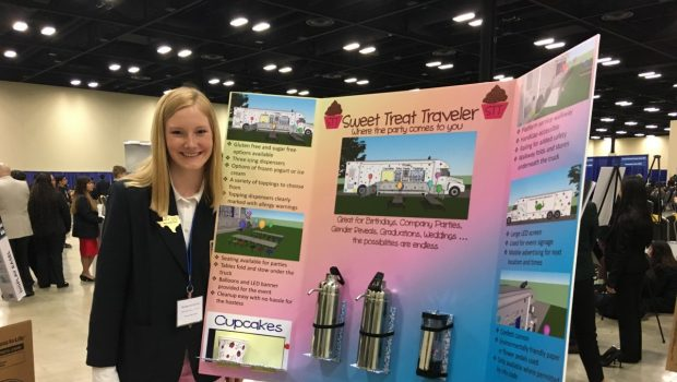FHS Student Advances to DECA Nationals; 19 Place as Alternates