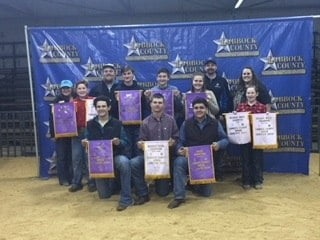 Frenship FFA Students Place in Recent Stock Shows