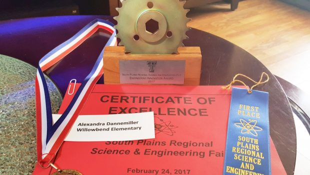 Frenship Elementary Students Excel at South Plains Regional Science Fair
