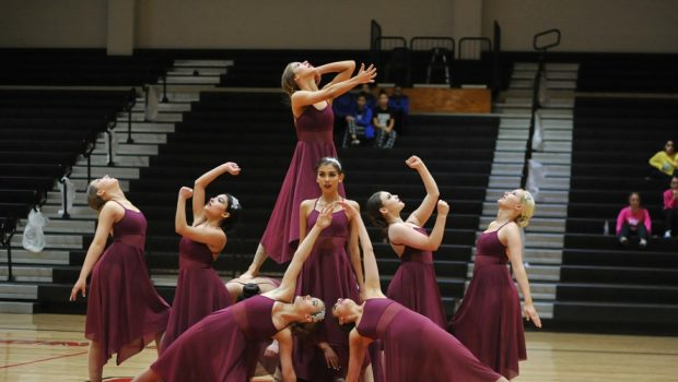 JV Dance Team Receives Two Division One Rankings in Alamo Sr. Dance Classic