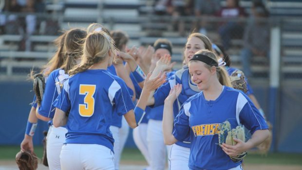 Tiger Softball Sweeps Two Last Week in District Play