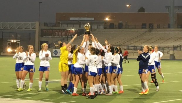 Tiger Soccer Captures Bi-District Championship in 5-0 Victory