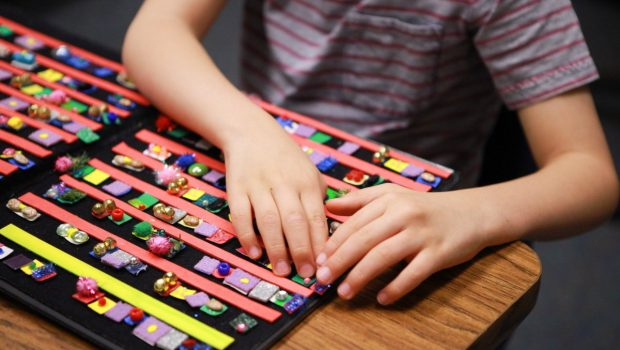 Aidan's Path to Braille: A New Way of Learning for the Visually Impaired