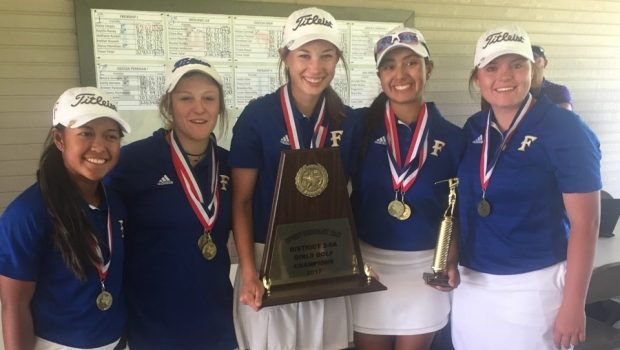 FHS Girls Golf Team Wins District Championship