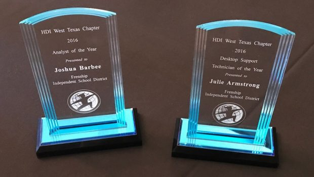 Frenship ISD Takes Two of the Top 10 Technology Support Awards in Texas