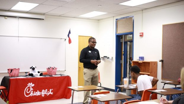 Reese Education Center Welcomes Local Businesses for Career Day